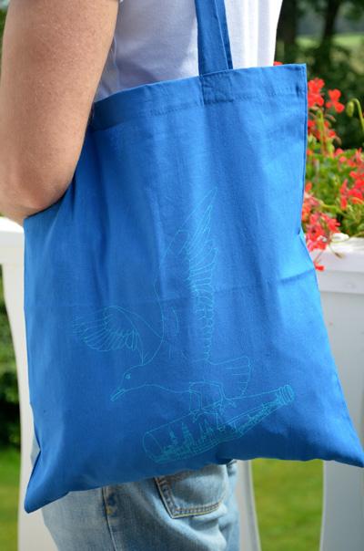Manni Möwe HH blau blau