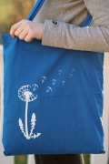 Bibi Blume blau weiß