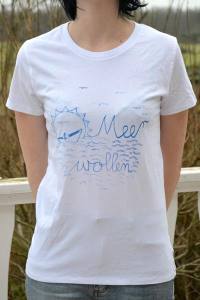 Mimmi Meer wollen weiß blau