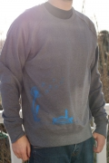 Bibi Blume grau blau