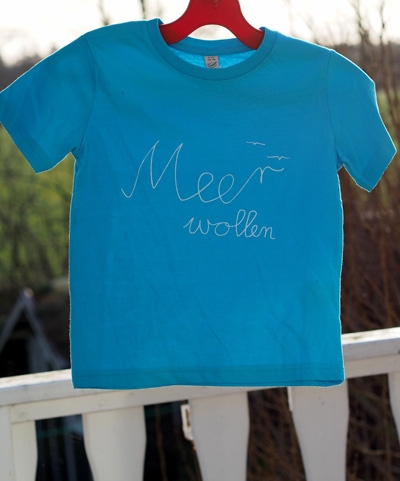 Meerwollen Kindershirt