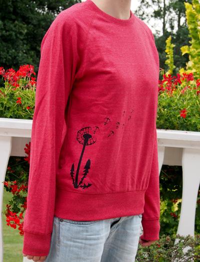 Bibi Blume rot schwarz